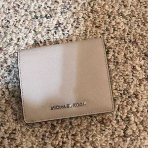 Michael Kors Gray Mini Wallet